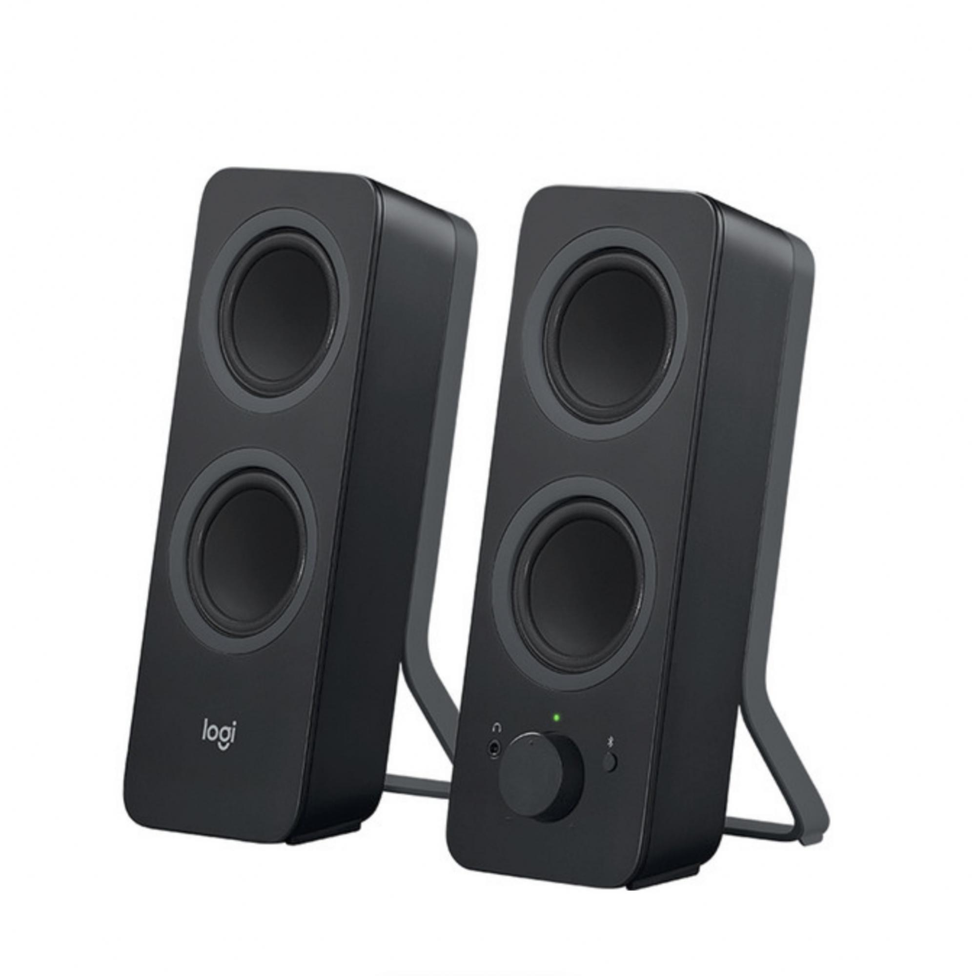L o g i t e c h  -  Z207 Alto-falantes Bluetooth Para Computador Bivolt