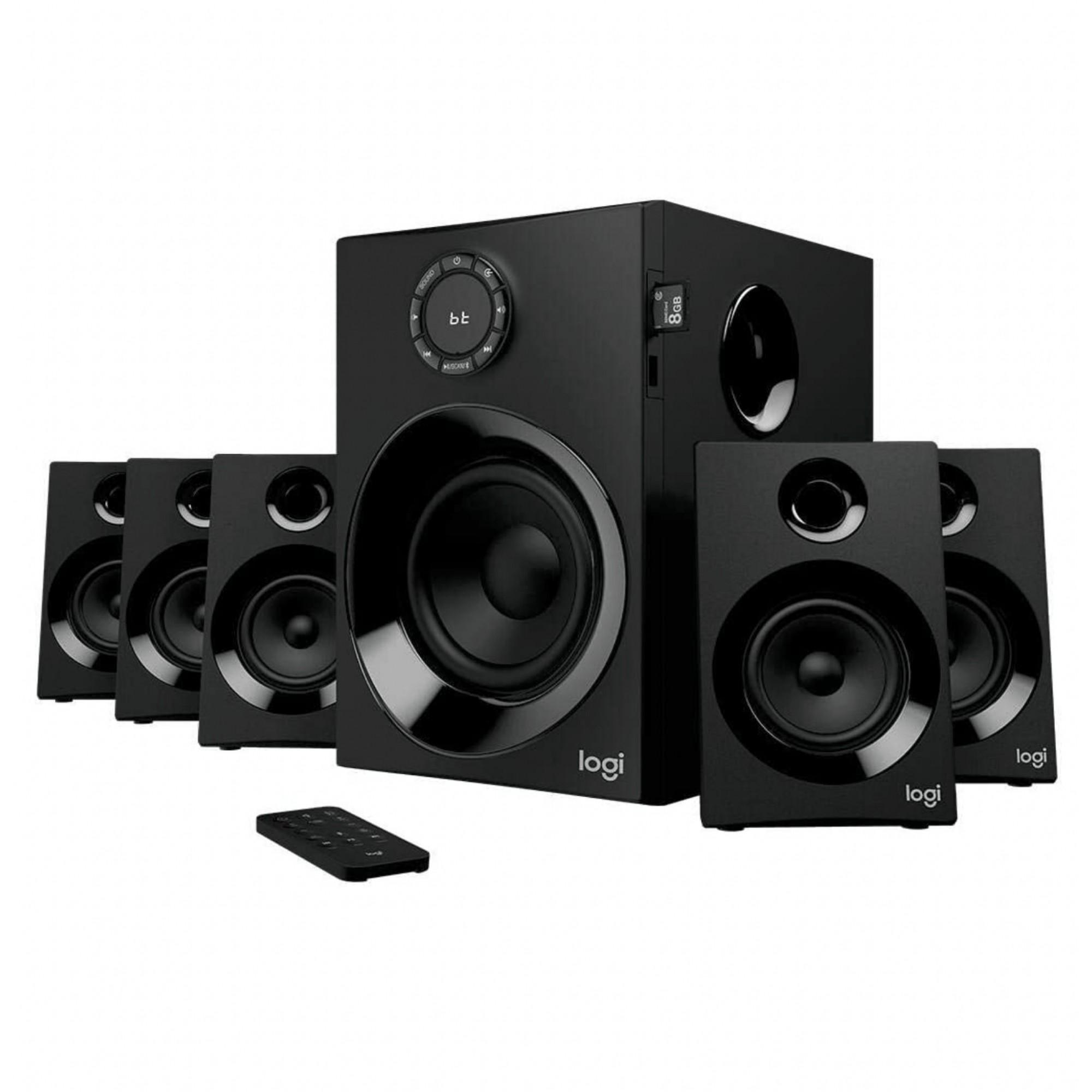 L o g i t e c h - Z607 Sistema Alto-falantes 5.1 Bluetooth 980-001315