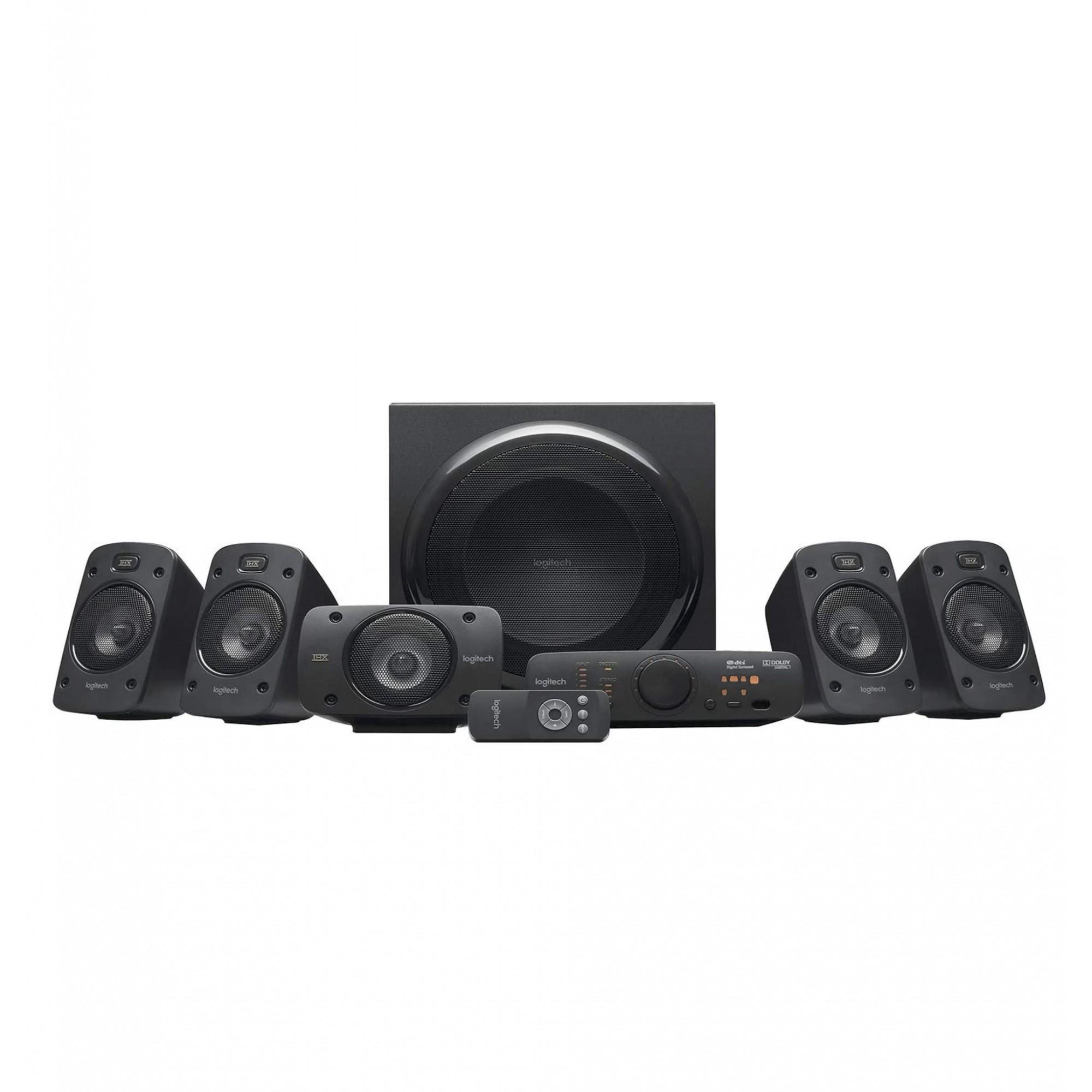 L o g i t e c h - Z906 5.1 Surround Thx, Dolby Digital E Dts 500w