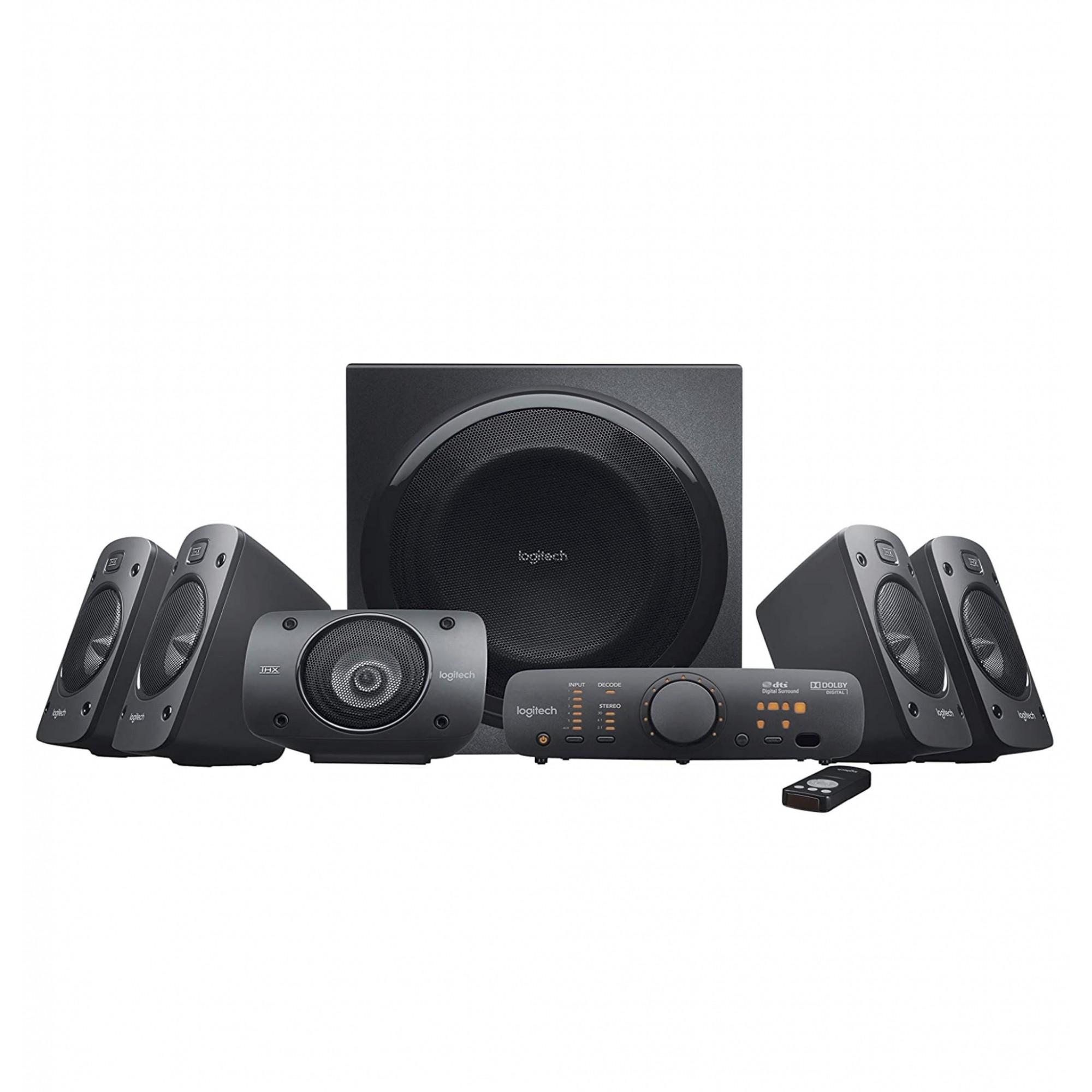 Logitech Z906 5.1 Surround Thx, Dolby Digital E Dts 500w