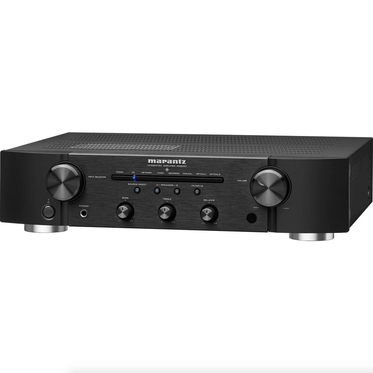 Marantz PM6007 Amplificador integrado Estéreo ( Preto ) 120v