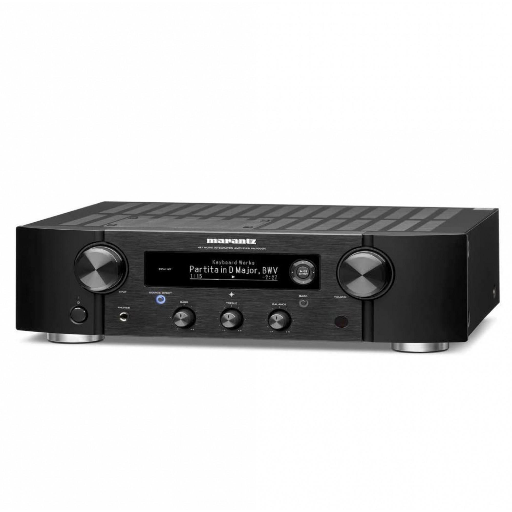 Marantz PM7000N Amplificador Estéreo Integrado Entrada Phono Saída Subwoofer 110V