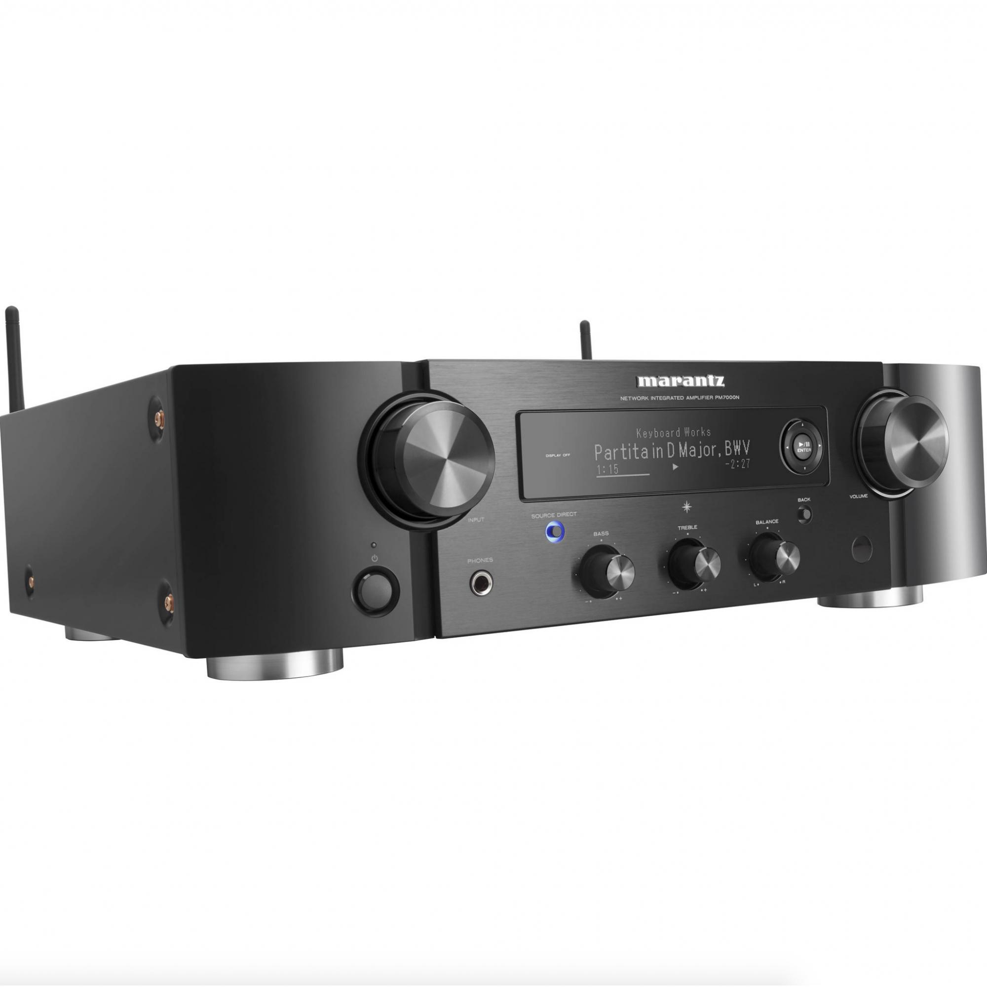 Marantz PM7000N Amplificador Estéreo Integrado Entrada Phono Saída Subwoofer 220V