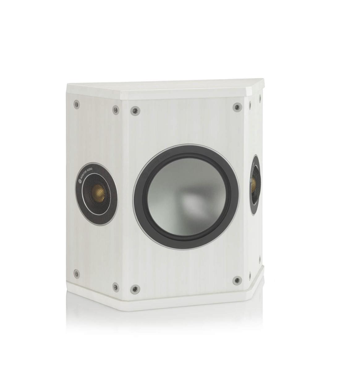 Monitor Audio Bronze Fx Caixa Surround 80W Par - White Ash
