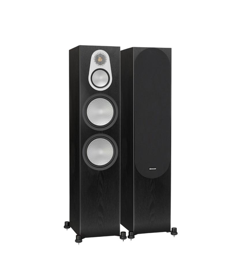 Monitor Audio Silver 500 Caixa Torre Par 250w Woofer 8