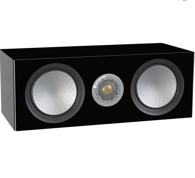 Monitor Audio Silver C150 Caixa Acústica Central Black Gloss 200W