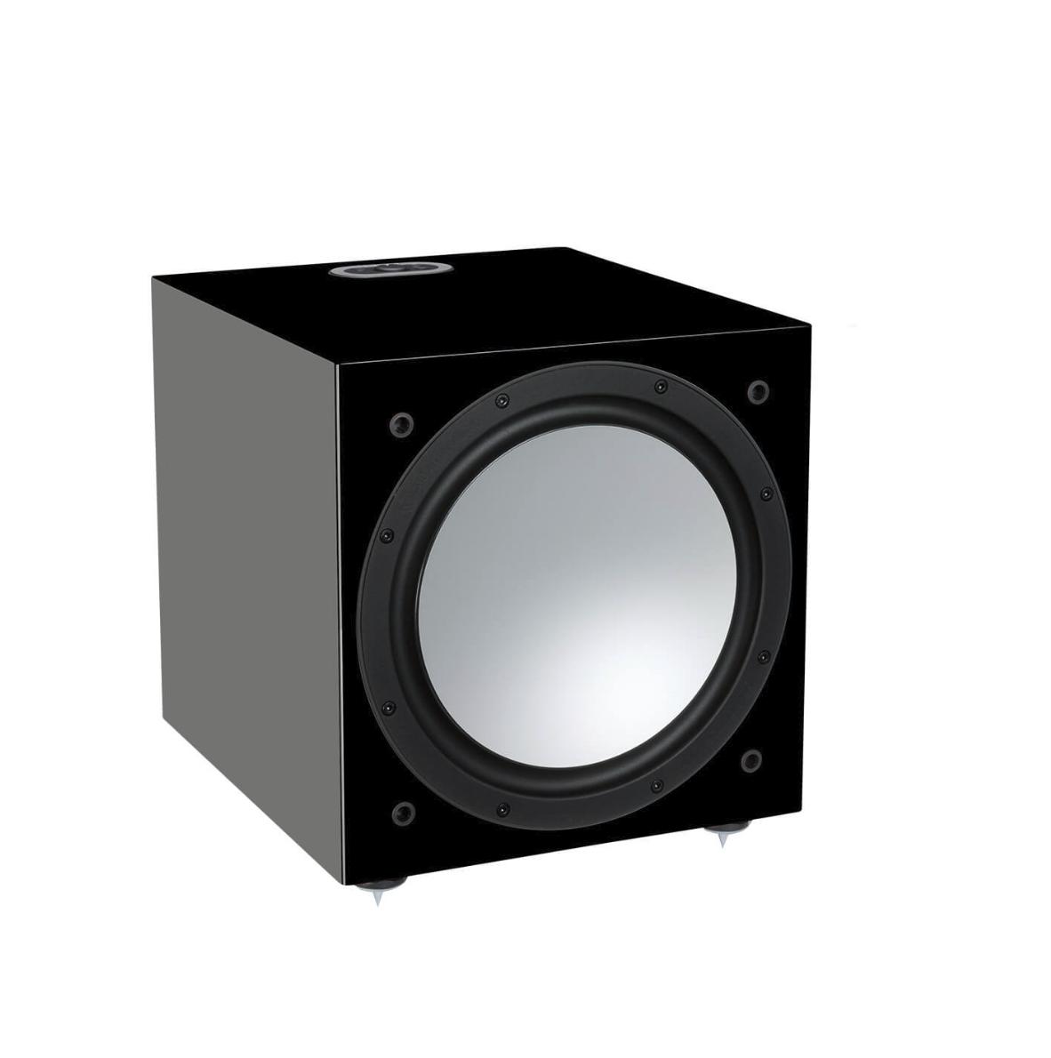 Monitor Audio Silver W12 Subwoofer Ativo 500w Black Gloss