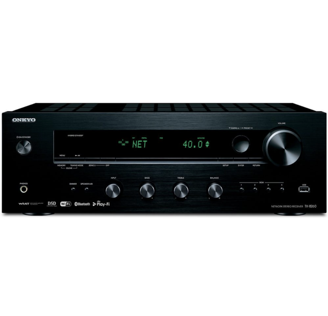 Onkyo Tx-8260 Receiver Estéreo Wi-fi, Bluetooth 120v