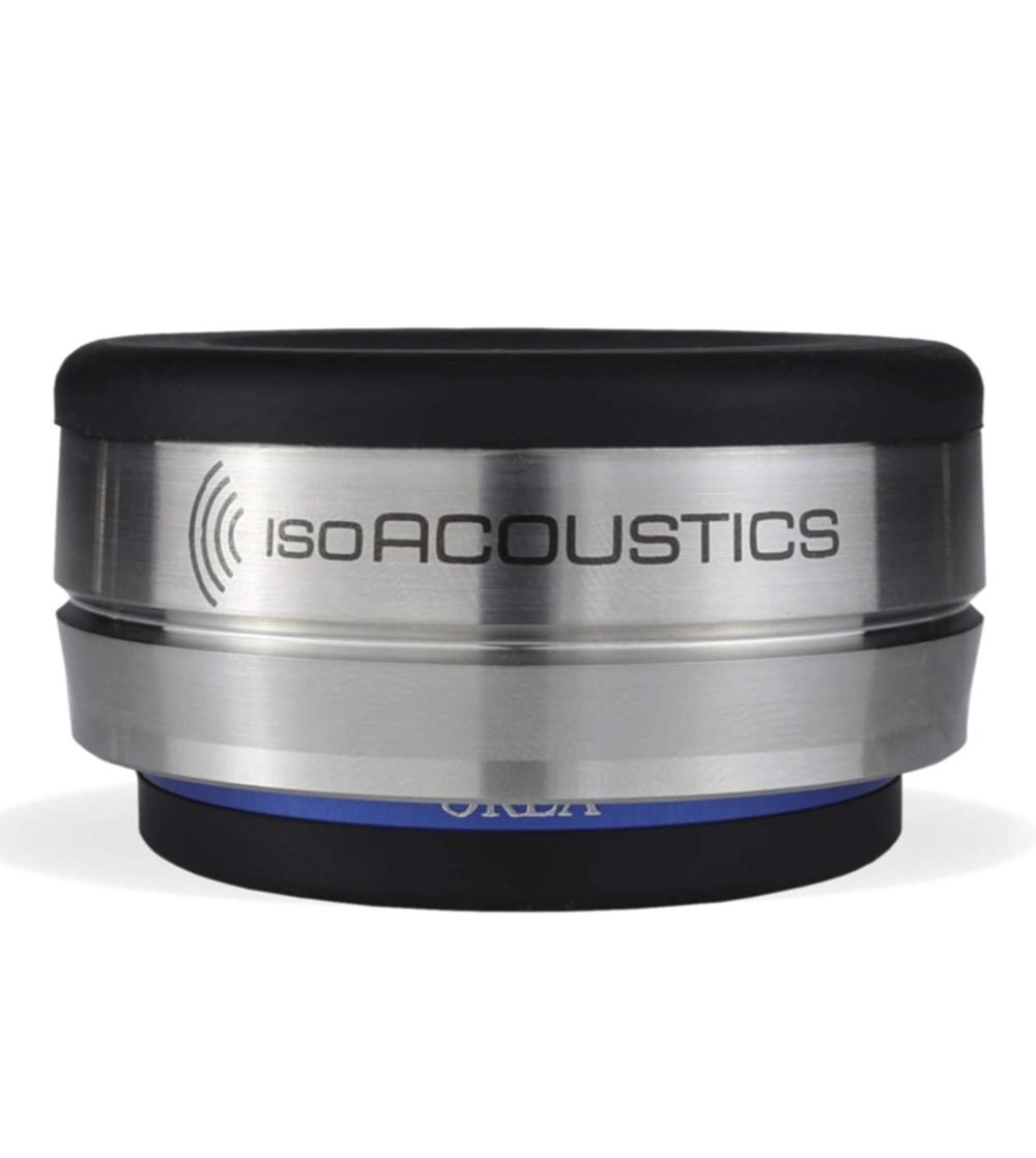 OREA Indigo IsoAcoustics Elimina vibrações Para DACs, CD players, Alto-falantes e Toca-Discos - Unidade