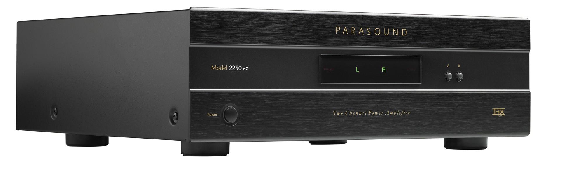 Parasound 2250 v.2 2Ch 250Watts RMS Amplificador