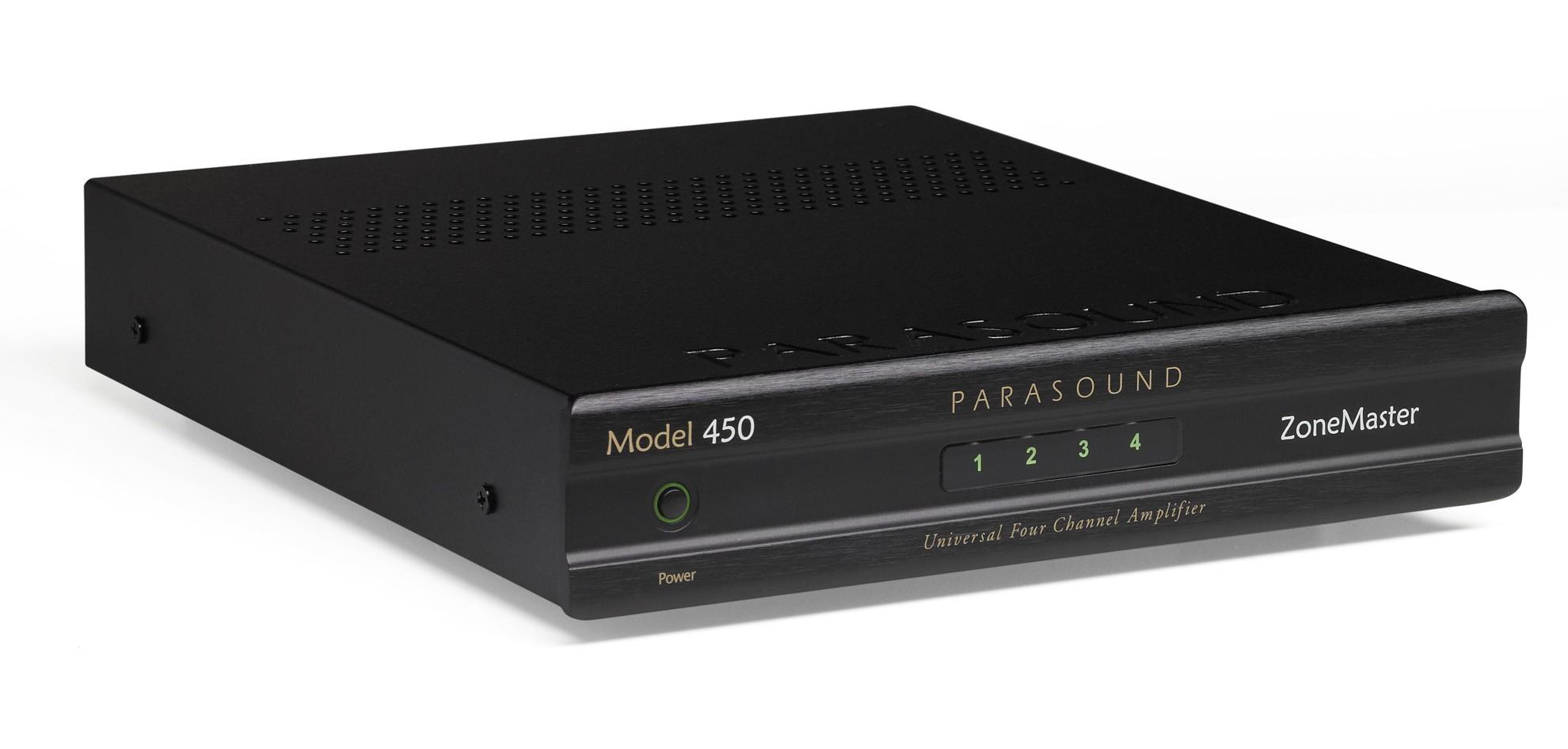 Parasound 450 Zonemaster 4Ch 50Watts RMS Amplificador
