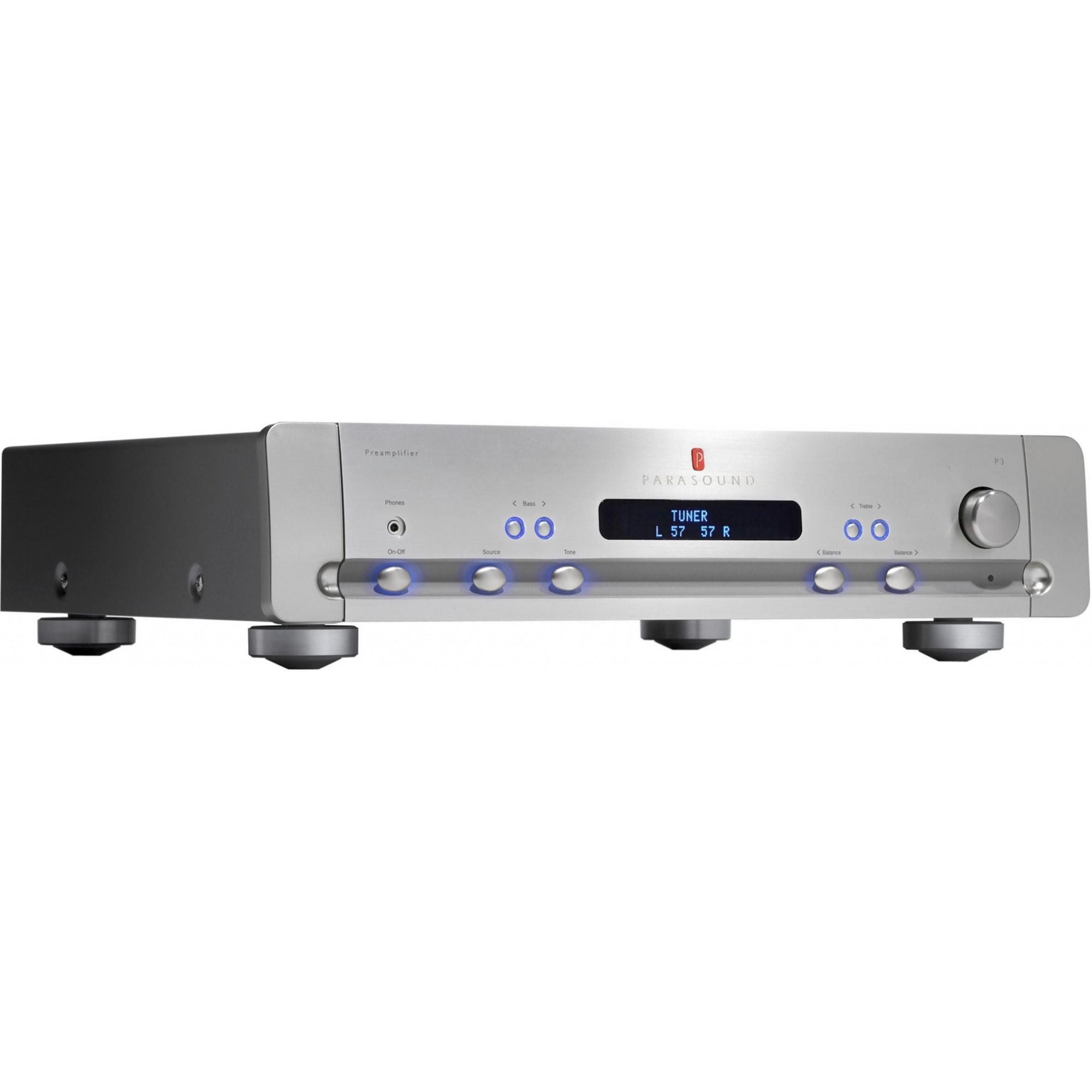Parasound Halo P3 Pré-amplificador - Prata