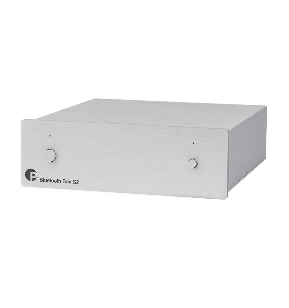 Pro-Ject Bluetooth Box S2 Receptor de áudio audiófilo aptX ( Silver )