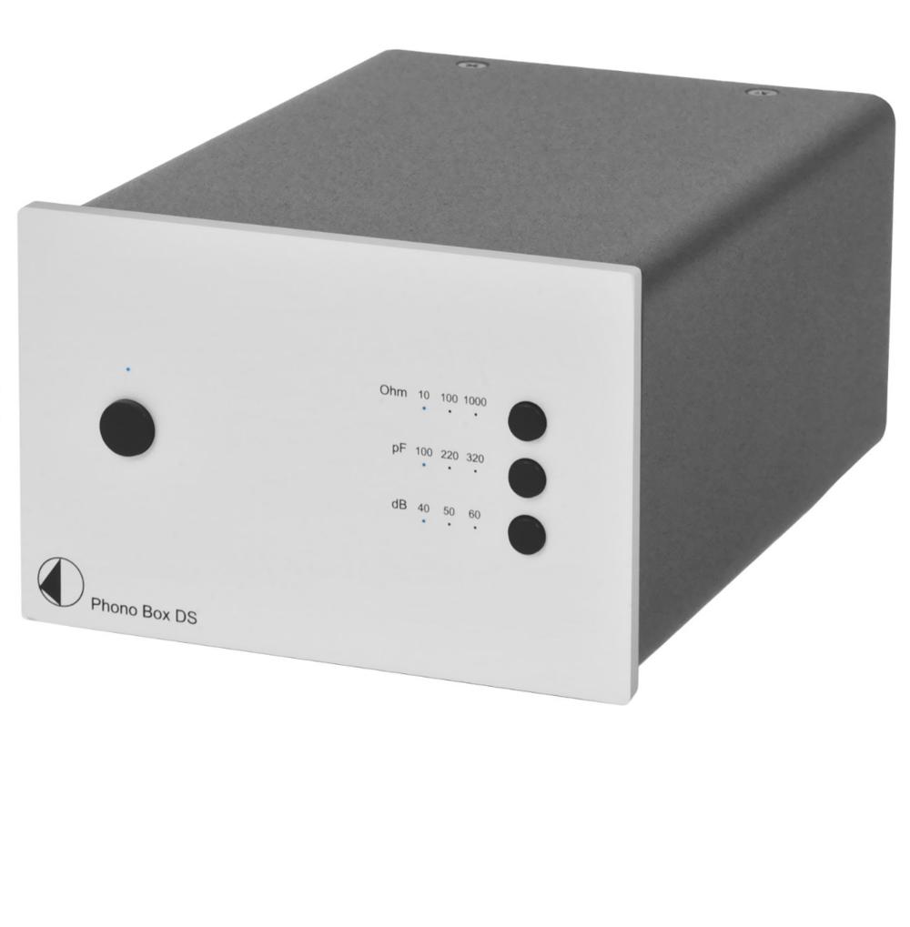 Pro-Ject Box Design Phono Box DS Pré-amplificador Phono MM & MC Silver