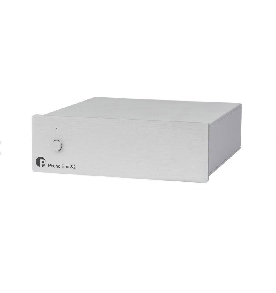 Pro-ject Phono Box S2 Pré-Amplificador Phono MM/MC Silver