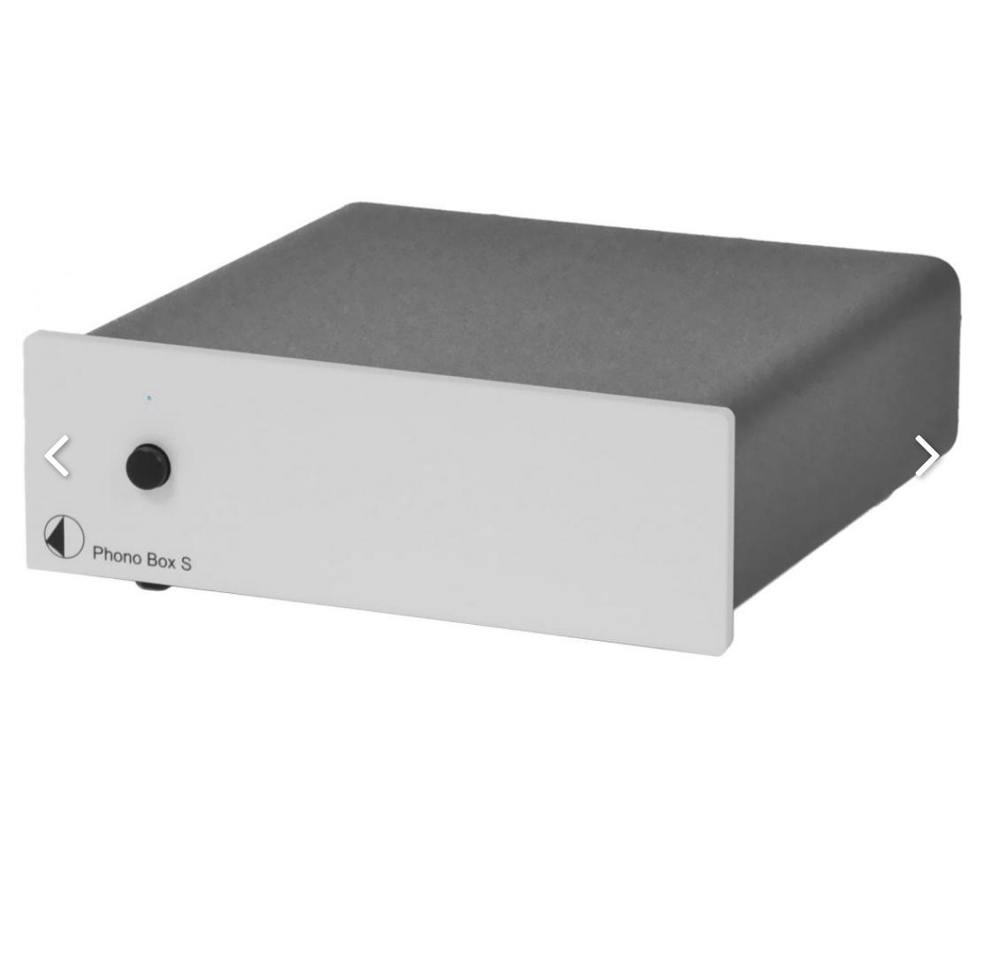 Pro-Ject Phono Box S Pré-amplificador de phono MM / MC Silver
