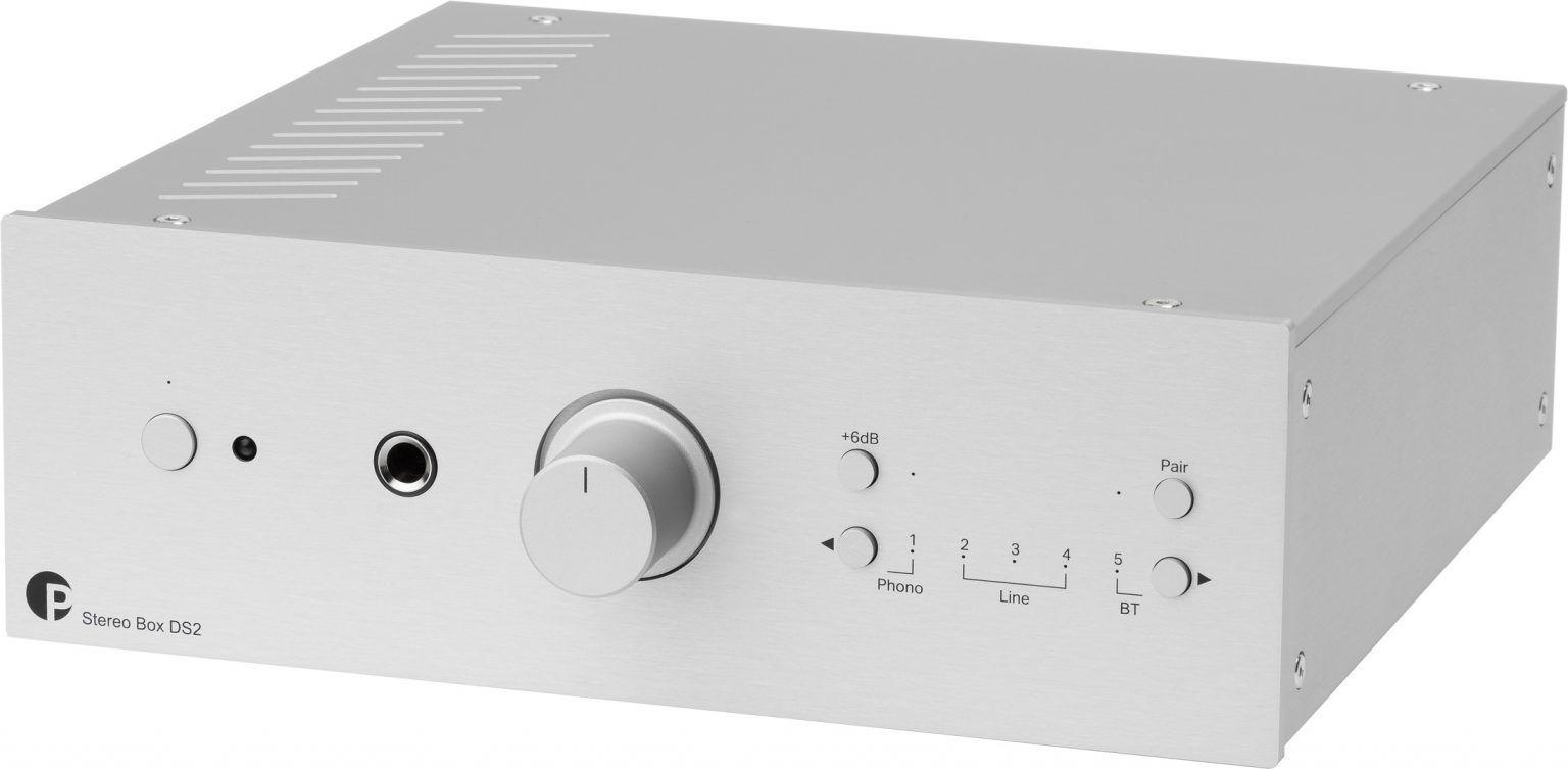 Pro-Ject Stereo Box DS2 Amplificador integrado Silver