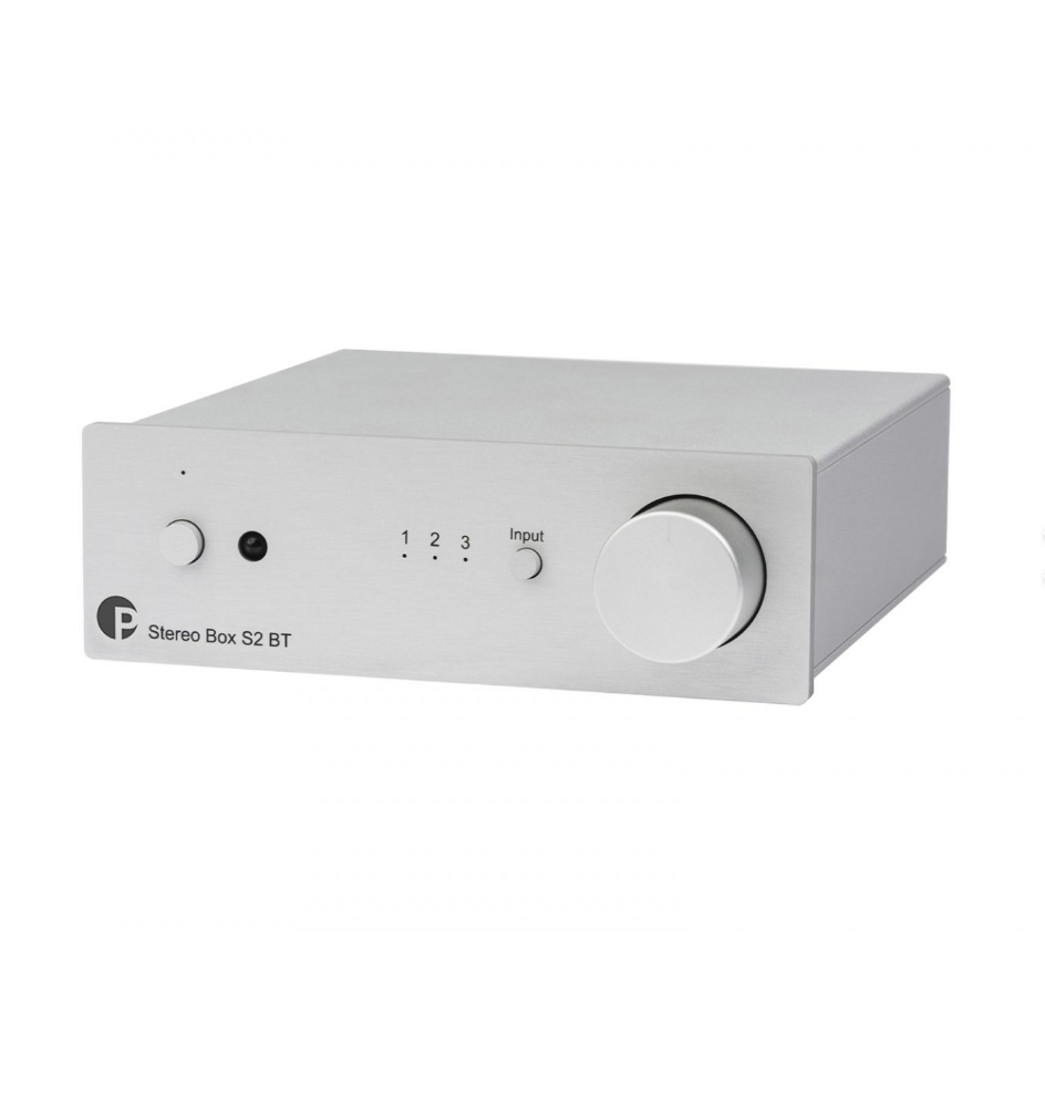 Pro-Ject Stereo Box S2 BT Amplificador integrado Com Bluetooth Silver