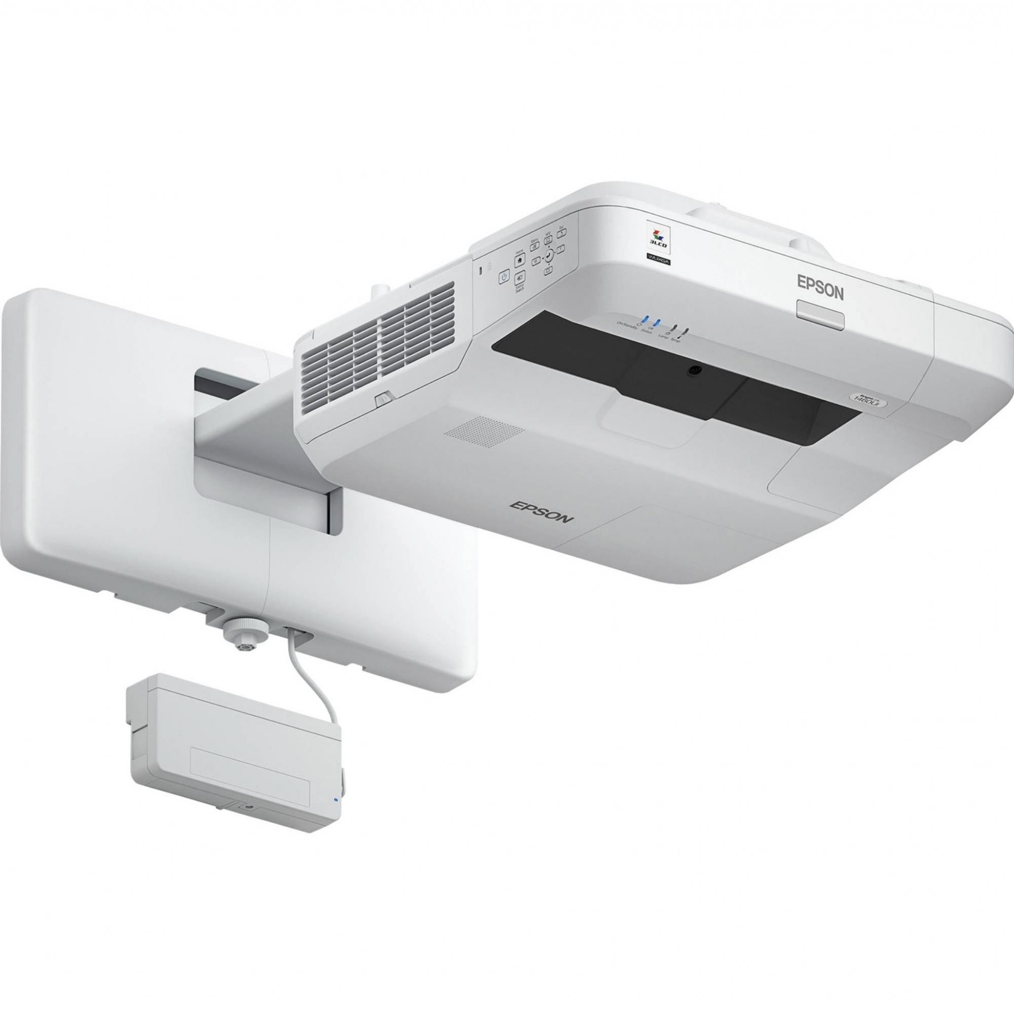 Projetor interativo Epson BrightLink Pro 1460Ui Full HD 4400LM Sem Suporte