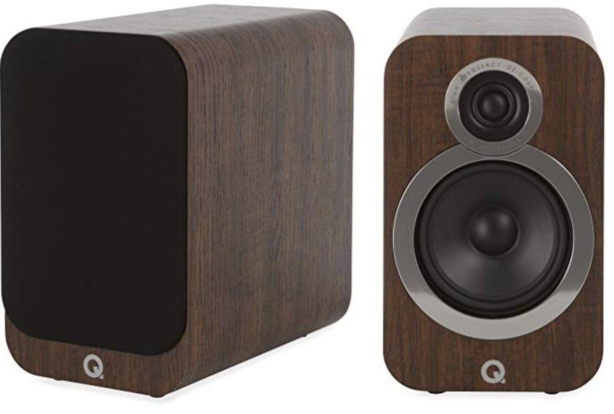 Q Acoustics 3020i - Par de caixas acústicas Bookshelf 125W 4-6 ohms