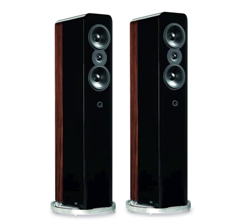 Q Acoustics Concept 500 Caixa Torre Premium 200w Par