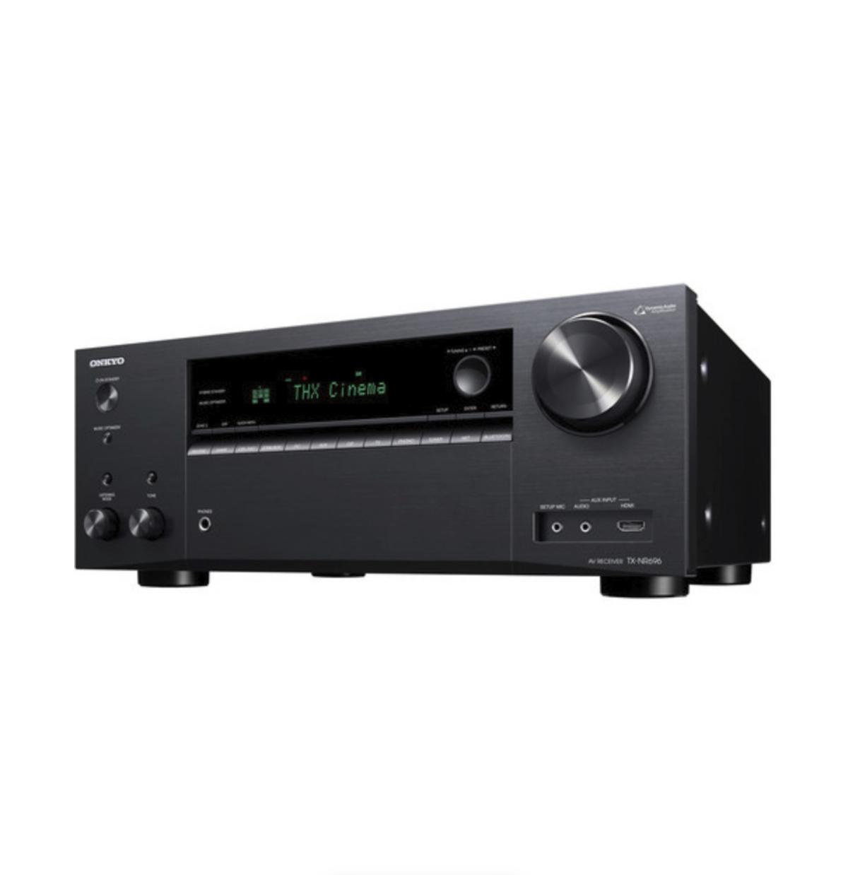 Onkyo - TX-NR696 Receiver 7.2 canais 110W Dolby Atmos Bluetooth Wifi 4K Zona 2 Certificado THX 110V