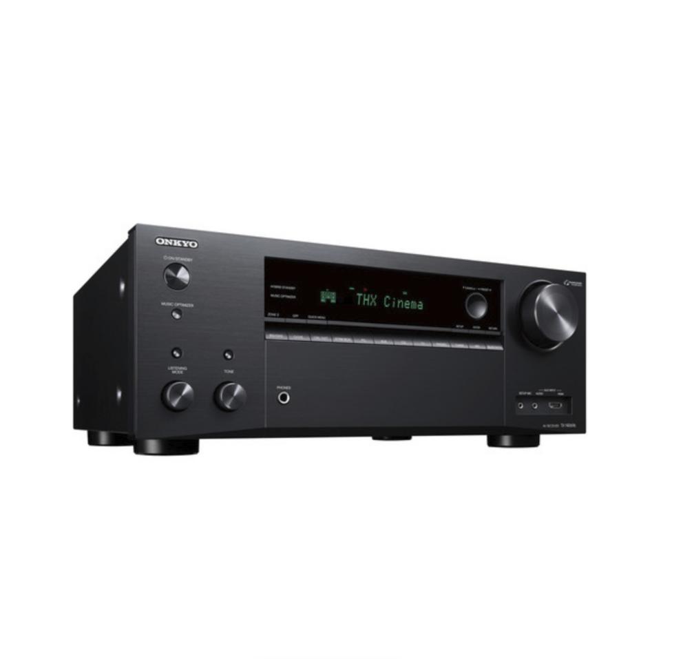 Onkyo TX-NR696 Receiver 7.2 canais 110W Dolby Atmos Bluetooth Wifi 4K Zona 2 Certificado THX 110V