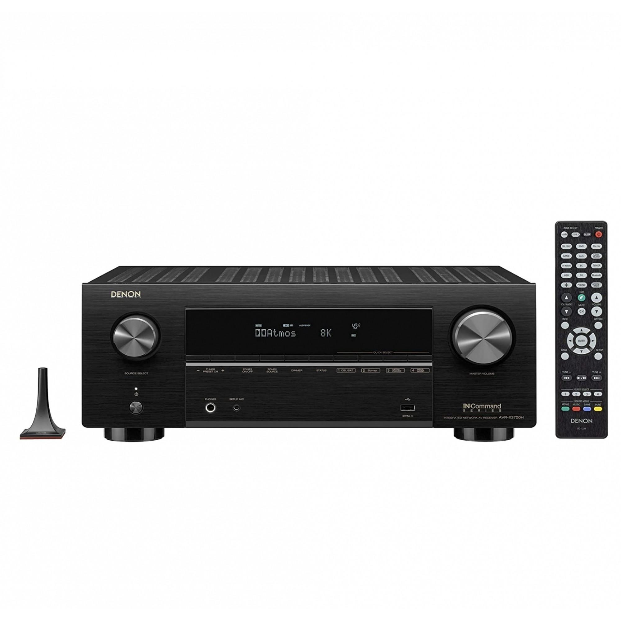 Receiver Denon AXC-X3700h ( 2020 ) 9.2 CH 8k Dolby Atmos - 220v