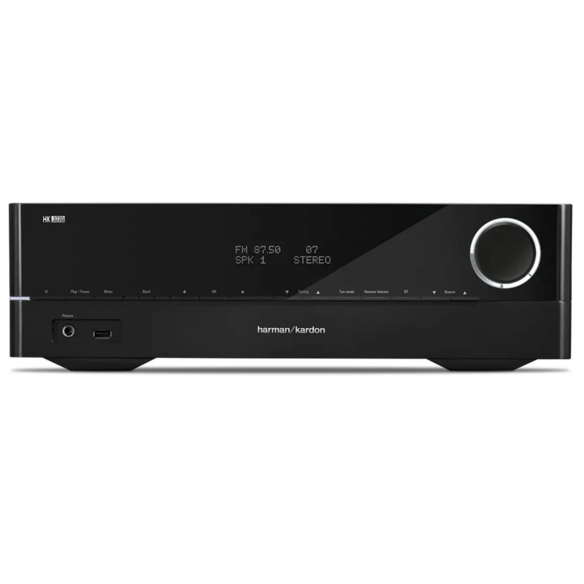 Receiver Harman Kardon Hk 3770 Bluetooth Stereo 2 X 120w Em 8 Ohms 220v