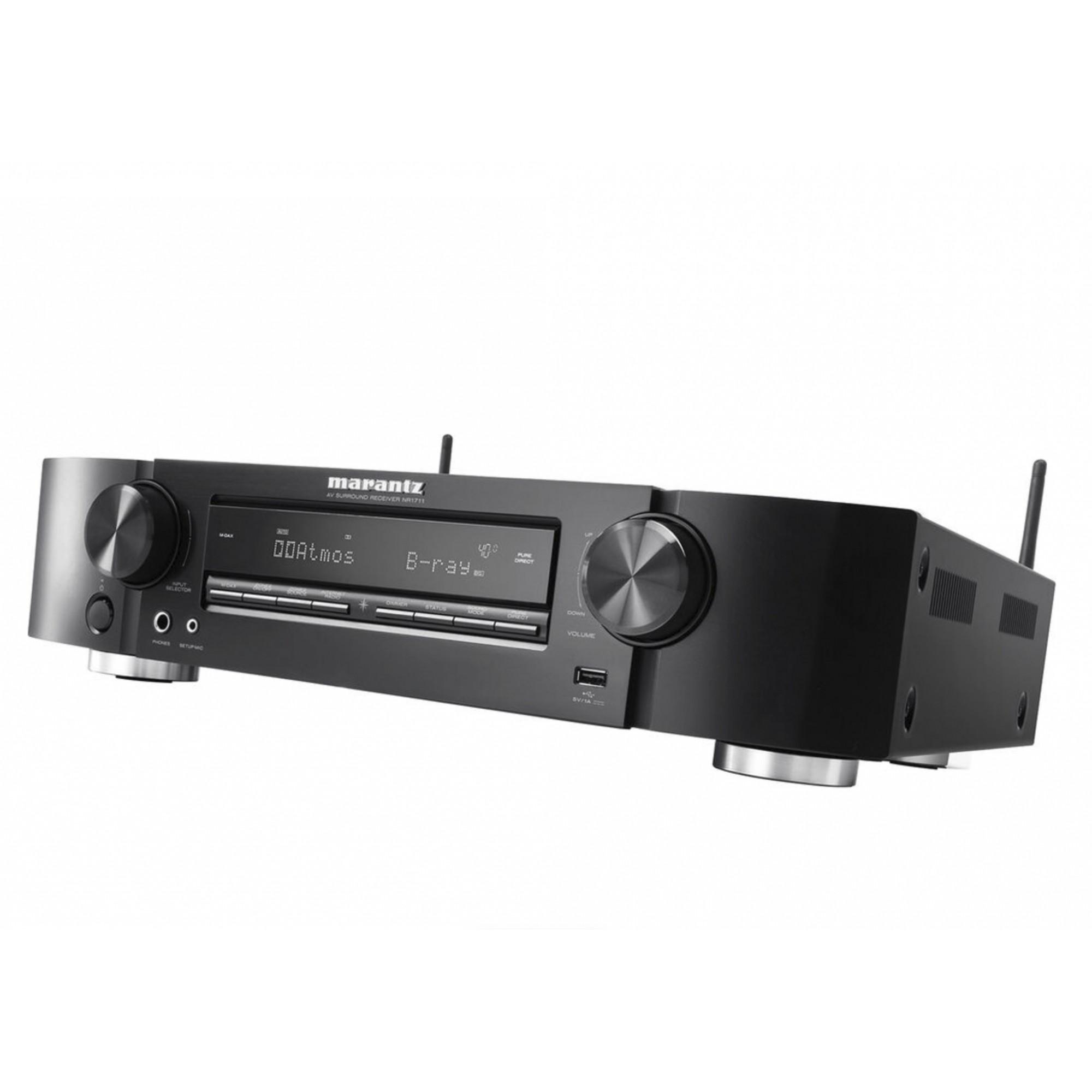 Receiver Marantz NR1711 Ultra HD 8K Dolby Vision -120v