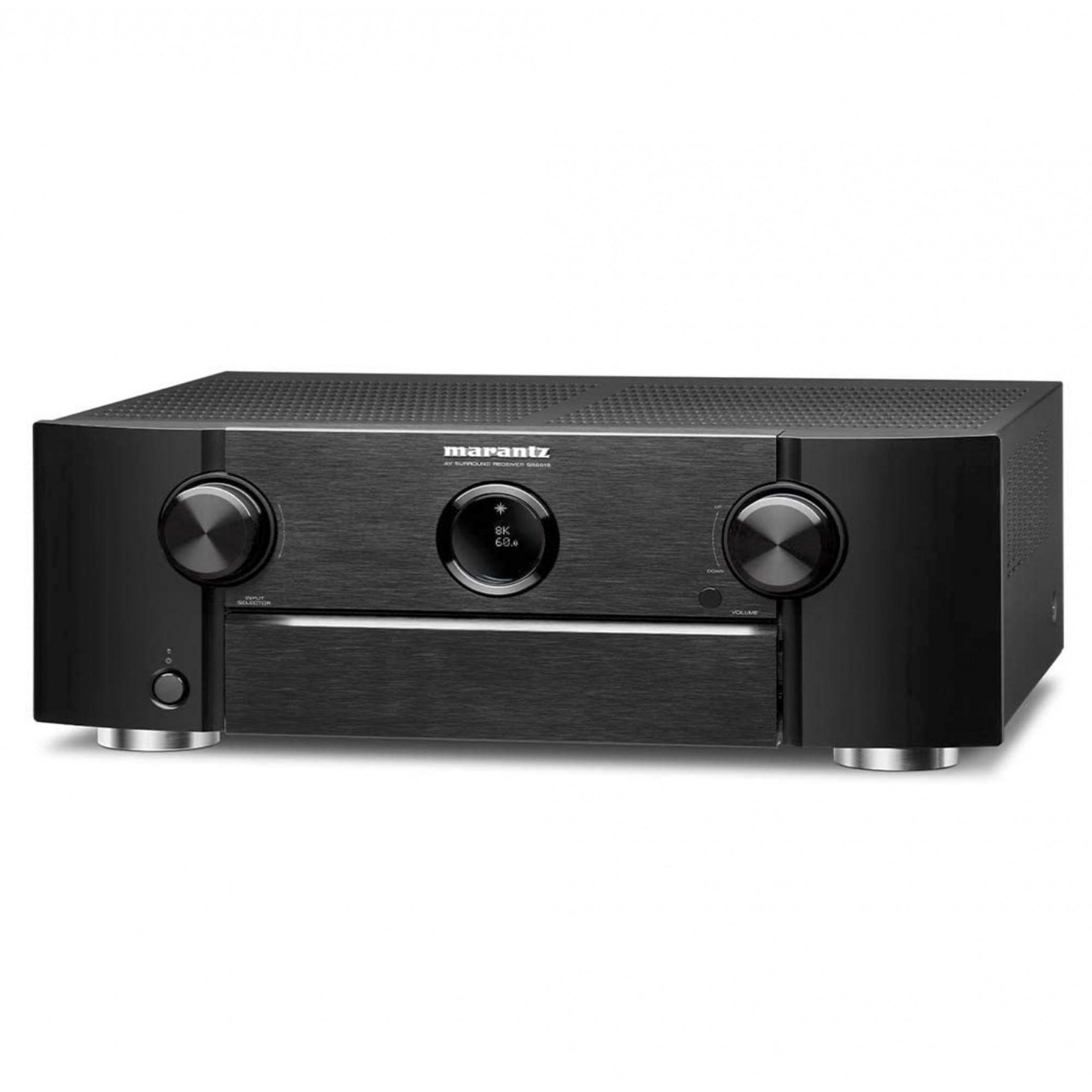 Receiver Marantz SR6015 Modelo 2020 Dolby Atmos 8k 9.2 canais 110W -  120v
