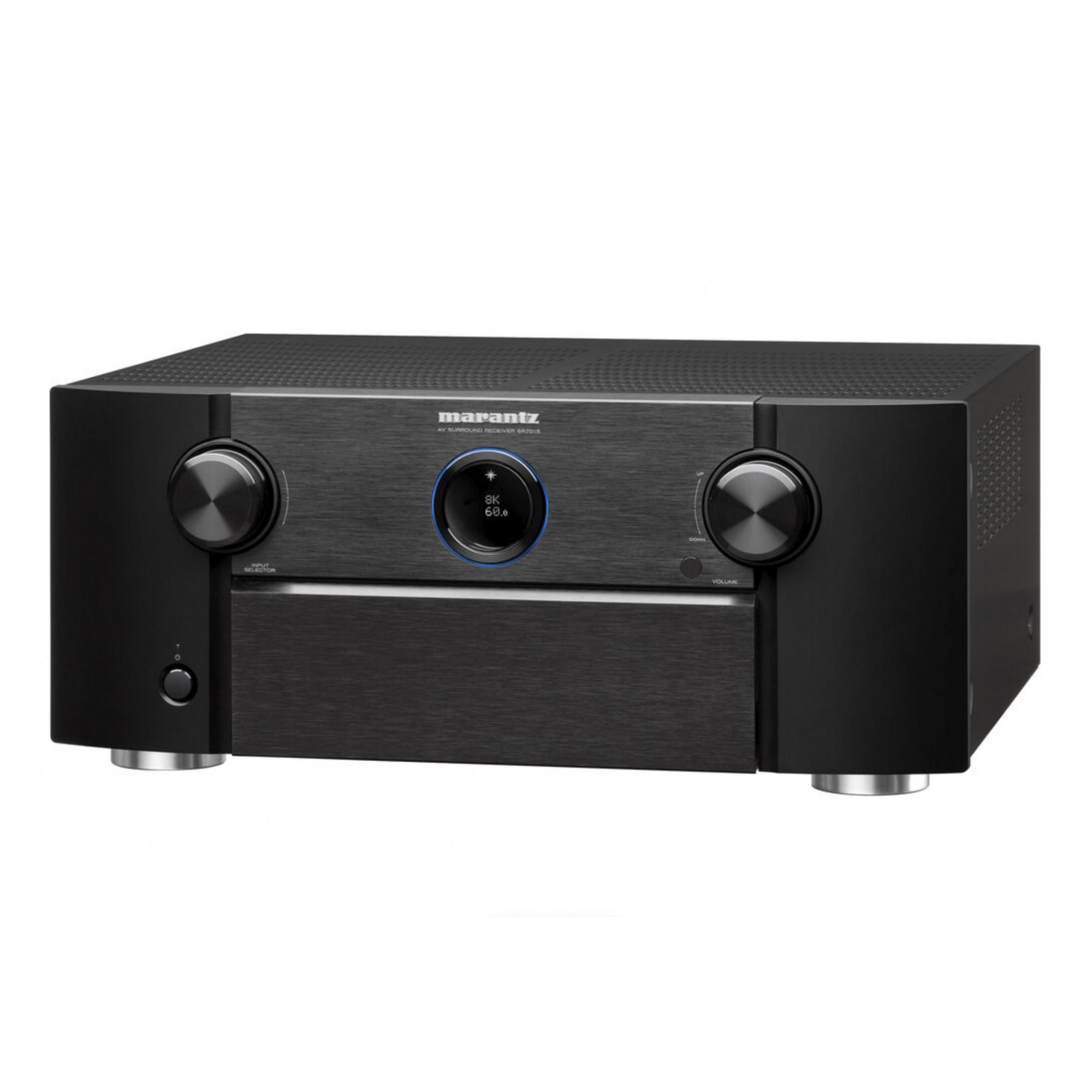 Receiver Marantz SR7015 Dolby Atmos  DTS: X  8k 9.2CH Modelo 2020 - 120v