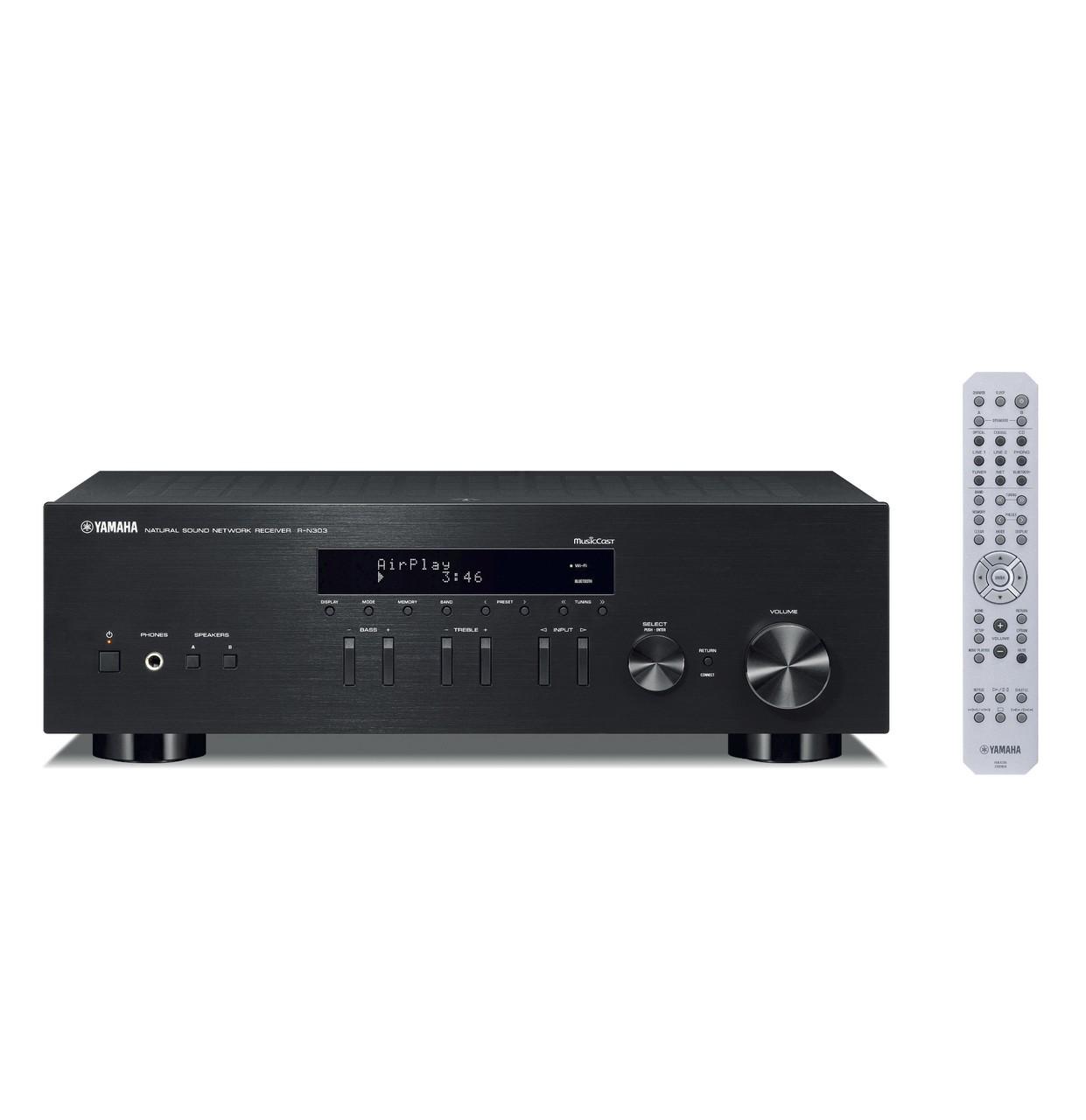 Yamaha R-n303 Receiver Stereo Wi-Fi Bluetooth