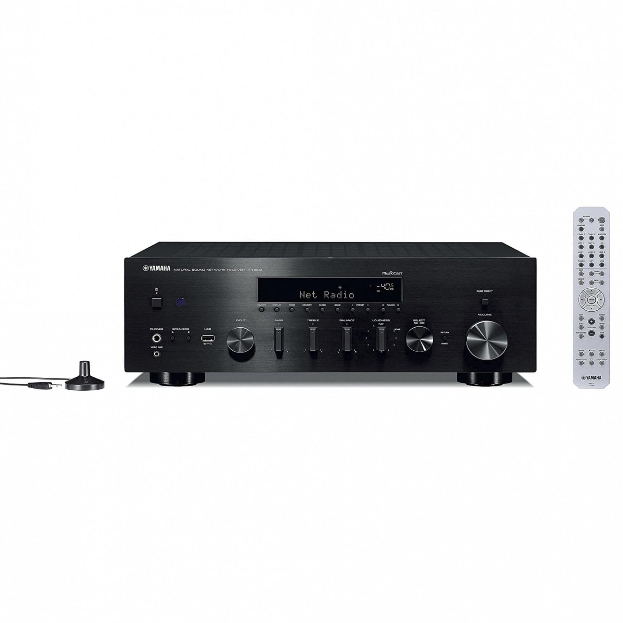 Receiver Yamaha R-n803 Bluetooth Wi-Fi 100w 110v/220v