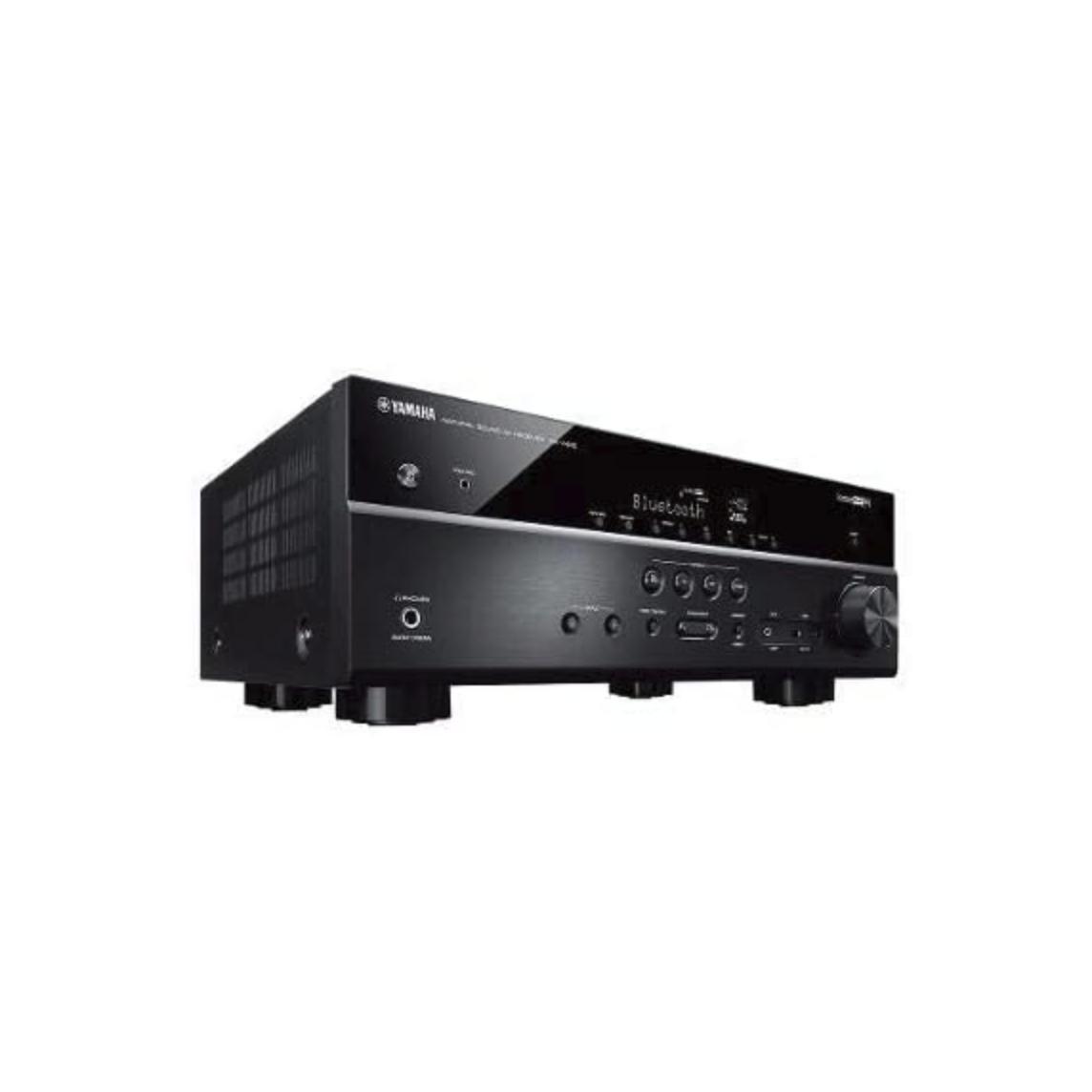 Receiver 5.1ch Yamaha RX-V485 Bluetooth Wi-Fi AirPlay 4K UHD HDR10 Zona B - Bivolt