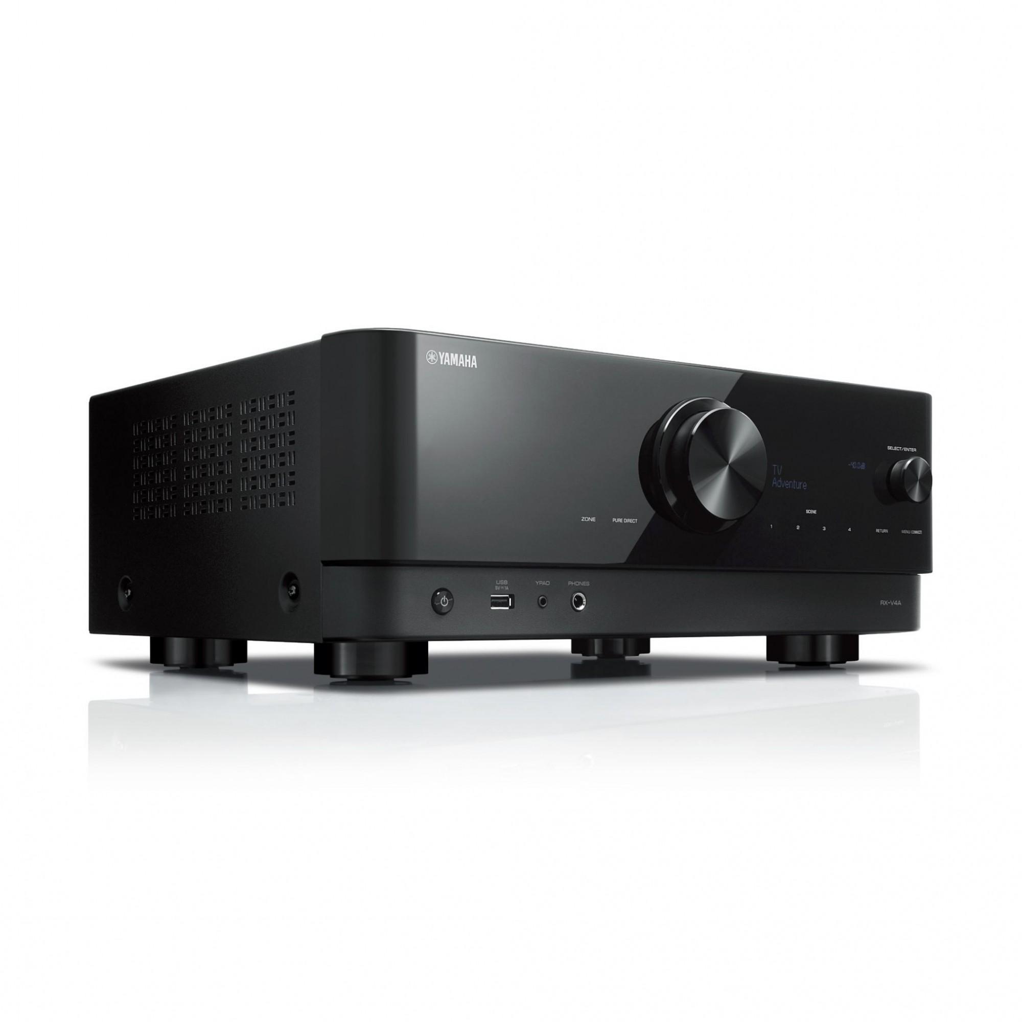 Receiver Yamaha RX-V4A 80w Dolby Vision 5.2 Canais 8K - 110v