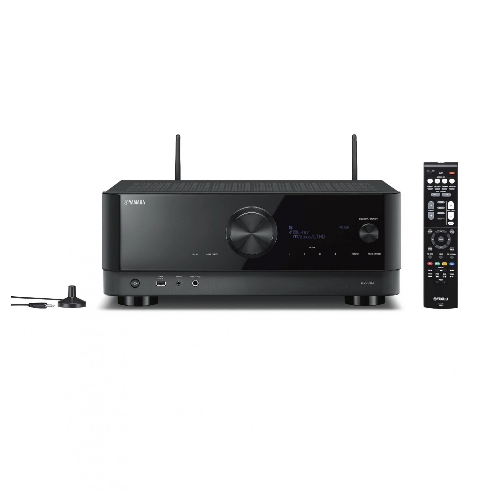 Receiver Yamaha RX-V6A Dolby Atmos 8k 7.2 Canais - 220v