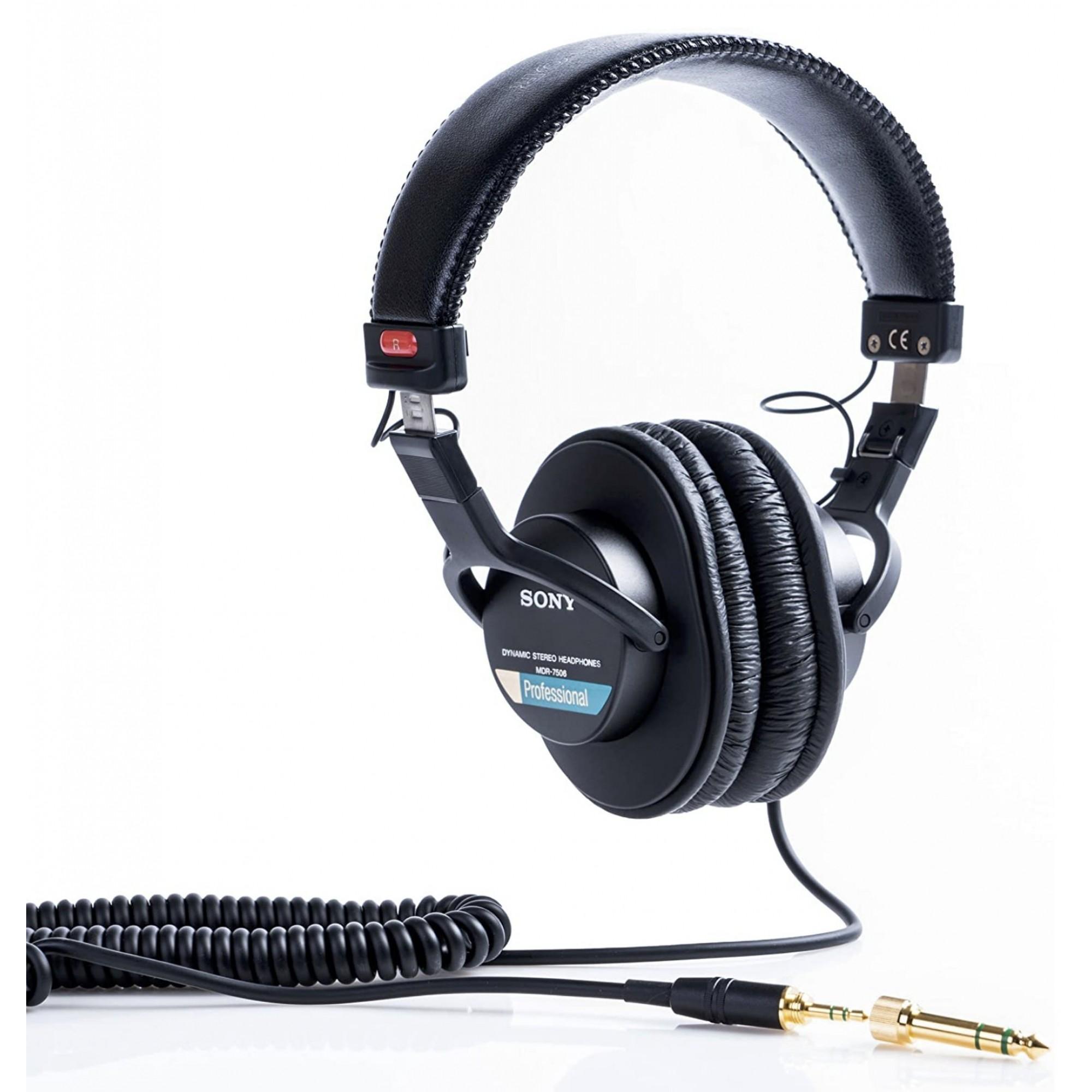 Sony Mdr-7506 Fone Profissional estúdio Headphone