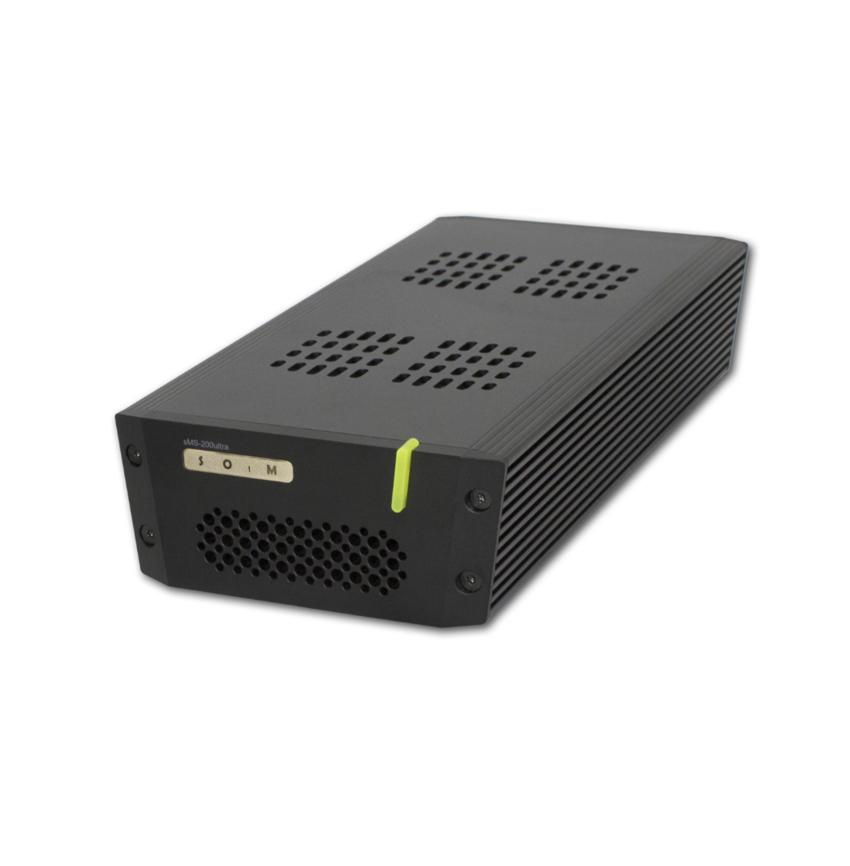 Sotm sMS-200ultra com Master Clock M50 network player