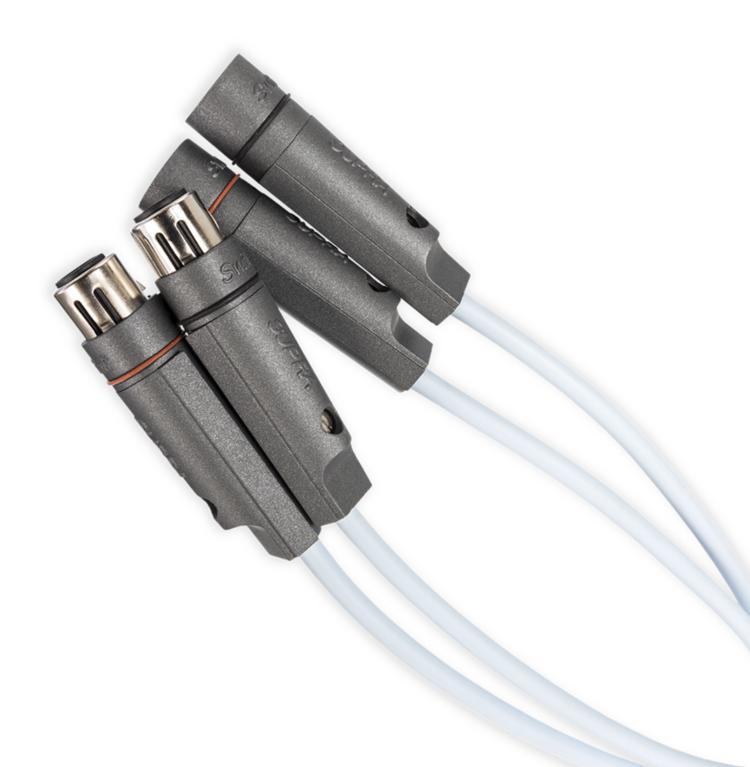 Supra Cables Dac-Xlr Balanceado interonnect - 2XLR-2XLR - 1m Par