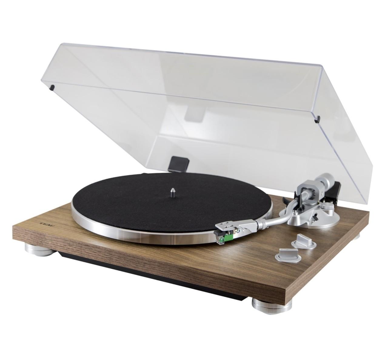 Teac TN-400S Toca Discos Com Phono e USB Bivolt - ( Walnut )