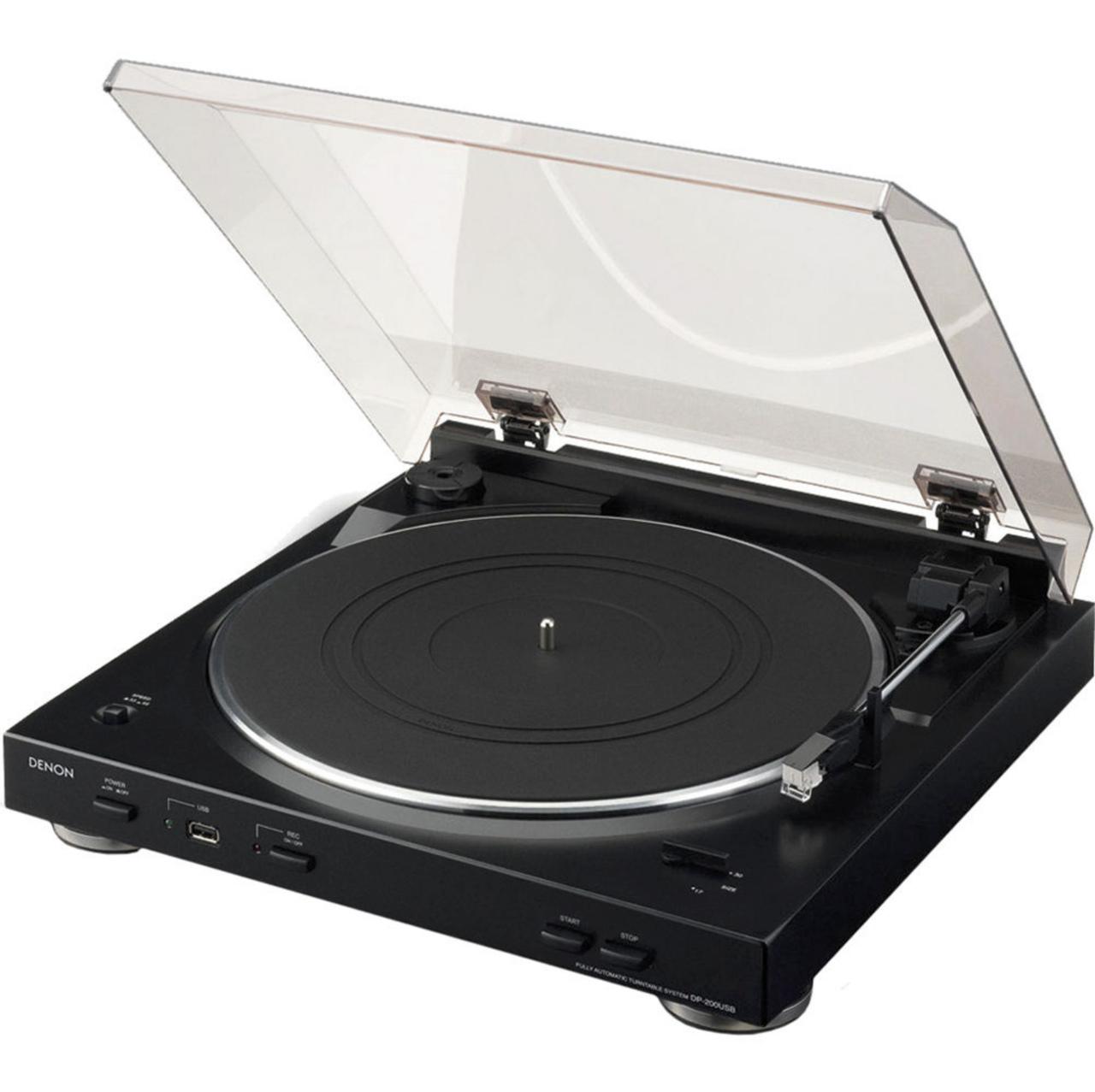 Toca discos Denon DP-200USB Automático 110v ( Caixa aberta )