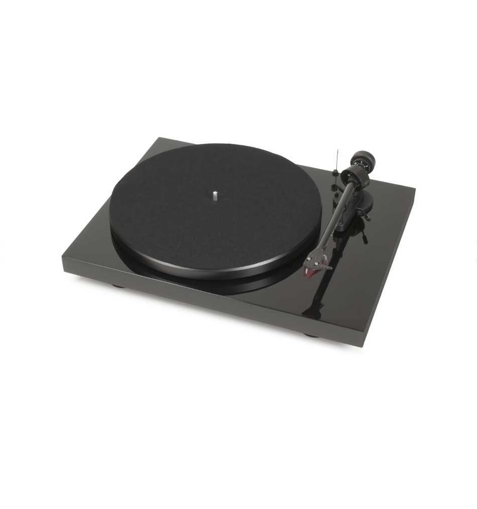 Toca-Discos Pro-Ject Debut Carbon (DC) Ortofon 2m Red High-Gloss Black