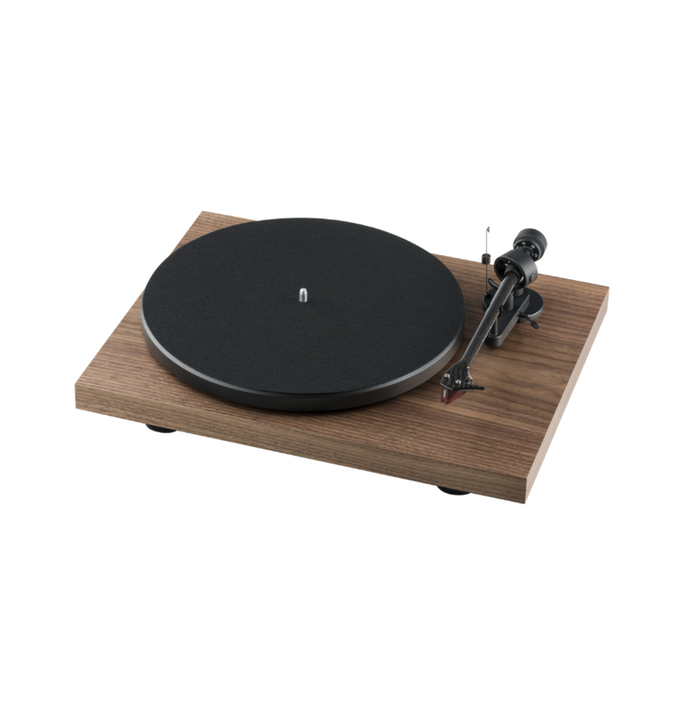 Toca-Discos Pro-Ject Debut Carbon (DC) Ortofon 2m Red - Walnut