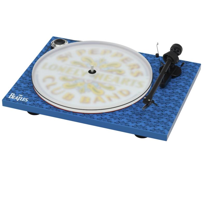 Toca-Discos Pro-Ject Essential III Sgt. Pepper's Drum Edição especial