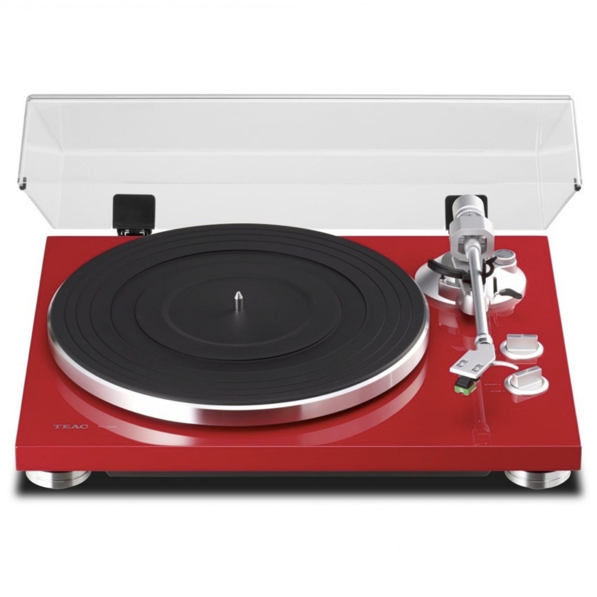 Toca Discos Teac TN-300 Phono EQ e USB ( RED ) Bivolt