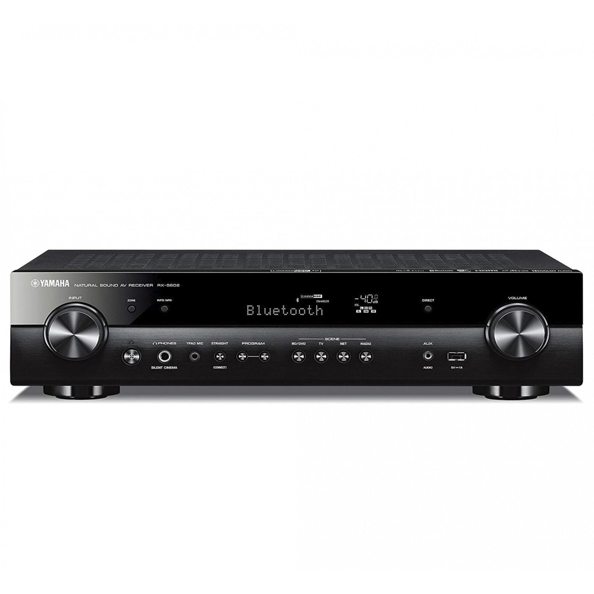 Yamaha Rx-s602 Receiver 5.1 Slim 110v/220v