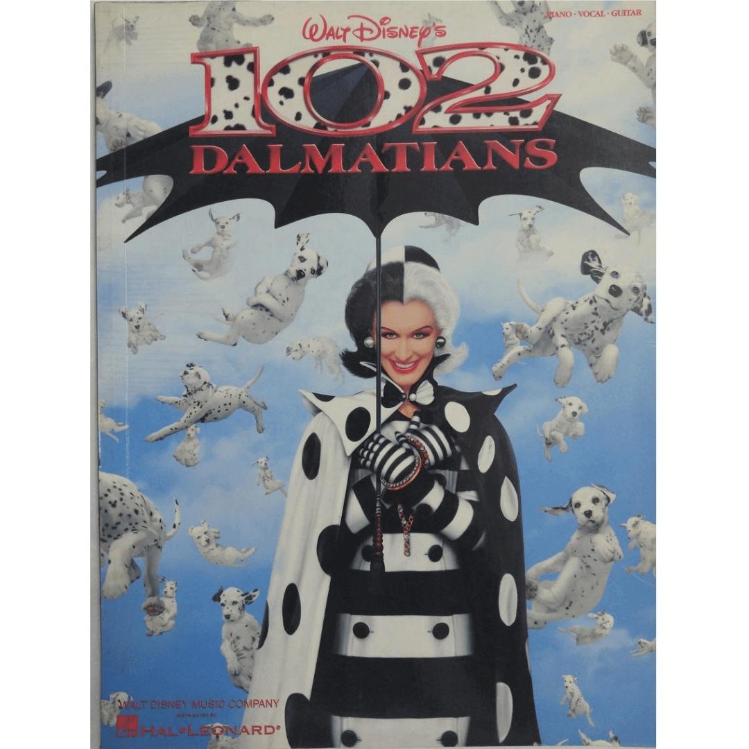 102 Dalmatians Piano, Vocal, Guitar - Walt Disney's HL00313171