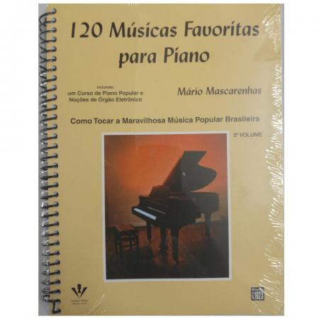 120 MÚSICAS FAVORITAS PARA PIANO - Volume 3 - Mário Mascarenhas 216A