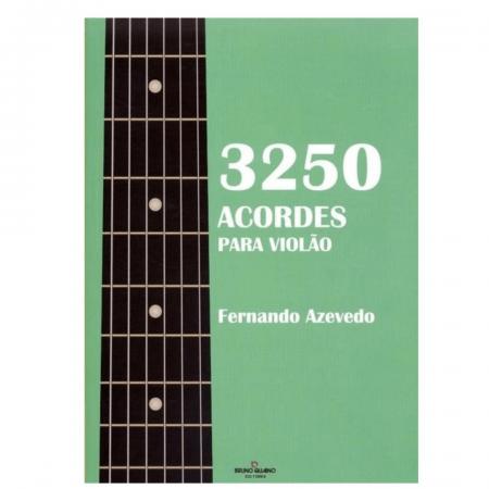 3250 acordes para violão - Fernando Azevedo - BQ177